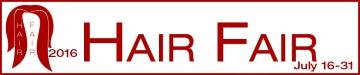Hair Fair 2016 Banner